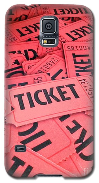 Carnaval Ticket Galaxy S5 Case by Jerry Bunger