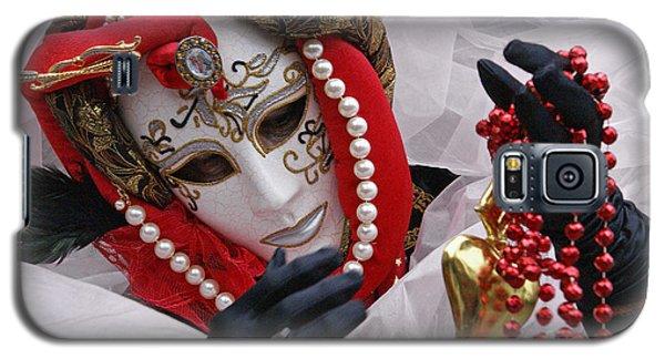 Carnevale Di Venezia  1 Galaxy S5 Case by Rudi Prott