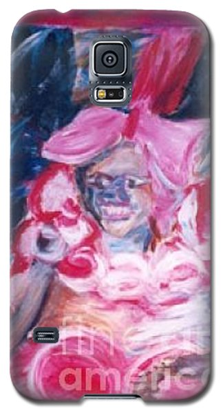 Galaxy S5 Case featuring the painting Carnival Queen by Fereshteh Stoecklein