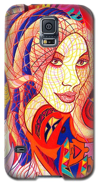 Carnival Girl Galaxy S5 Case by Danielle R T Haney
