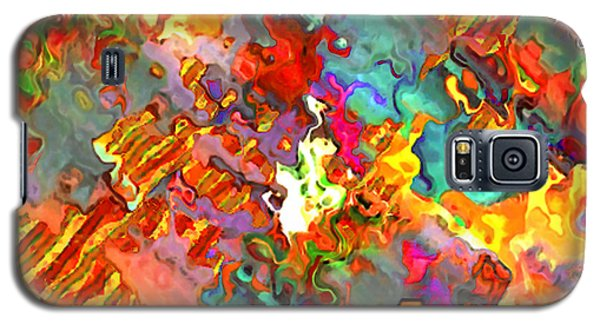 Galaxy S5 Case featuring the painting Carnival by Jann Paxton