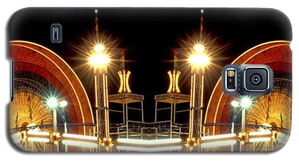 Carnival Light Patterns At Night Galaxy S5 Case