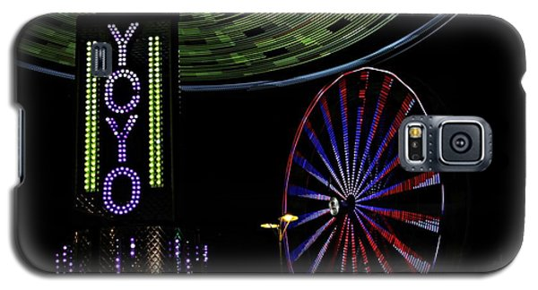 Carnival Rides Galaxy S5 Case
