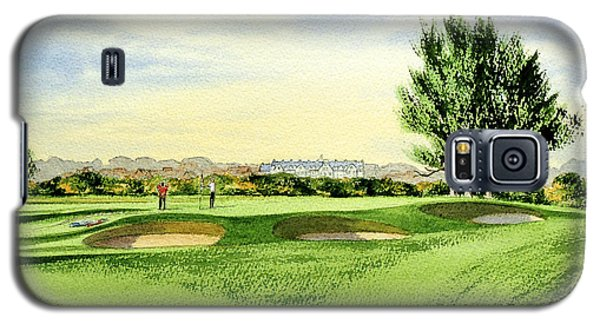 Carnoustie Golf Course 13th Green Galaxy S5 Case