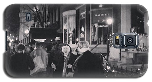 Carolers On North Charles Street December 2013 Galaxy S5 Case