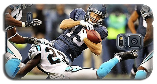 Carolina Panthers Galaxy S5 Case by Marvin Blaine