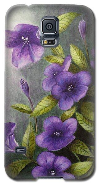 Carolina Wild Petunia Ruellia Caroliniensis Galaxy S5 Case