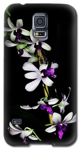 Carol's Orchid Galaxy S5 Case