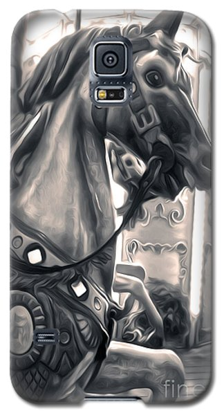 Carousel Horse Galaxy S5 Case by Gregory Dyer