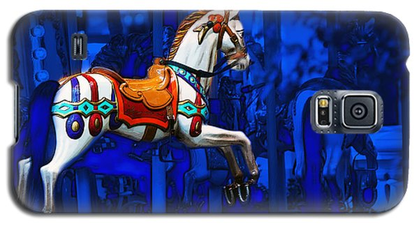 Carousel Horse Galaxy S5 Case by Gunter Nezhoda