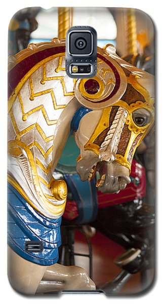 Colorful Carousel Merry-go-round Horse Galaxy S5 Case