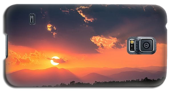 Galaxy S5 Case featuring the photograph Carpathian Sunset by Mihai Andritoiu