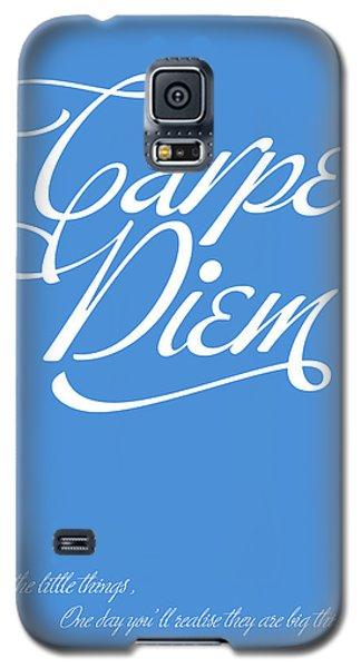 Carpe Diem Galaxy S5 Case by Gina Dsgn