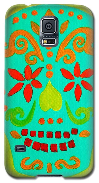 Galaxy S5 Case featuring the painting Carpe Diem Series by Janet McDonald