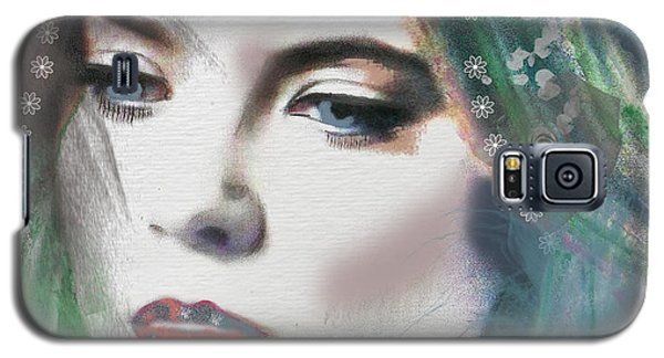 Carrie Under Veil Galaxy S5 Case by Kim Prowse
