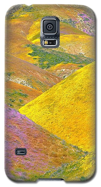 Carrizo Wildflowers Vertical Galaxy S5 Case
