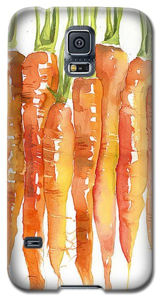 Carrot Bunch Art Blenda Studio Galaxy S5 Case by Blenda Studio
