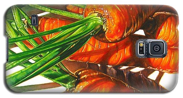 Carrot Top Shadows Galaxy S5 Case