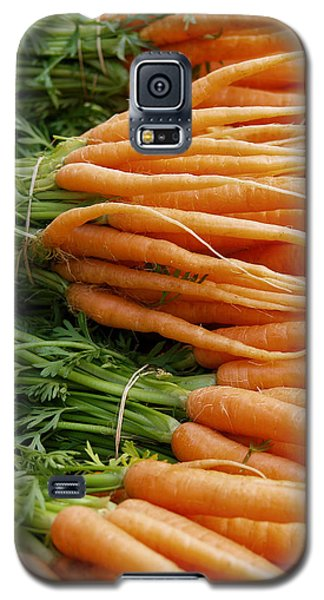 Galaxy S5 Case featuring the digital art Carrots by Ron Harpham