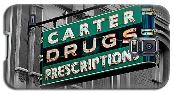 Carter Prescription Drugs Galaxy S5 Case