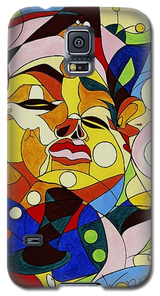 Cartoon Painting With Hidden Pictures Galaxy S5 Case