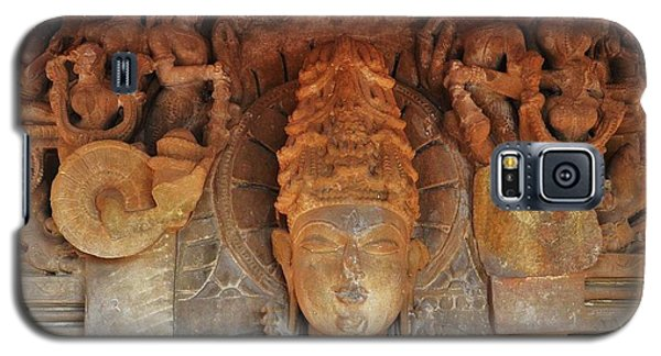 Statue At The Temple Of The 64 Yoginis - Jabalpur India Galaxy S5 Case