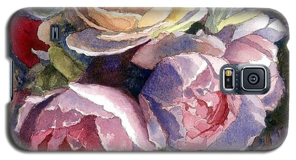 Caryn's Roses Galaxy S5 Case by Janet King