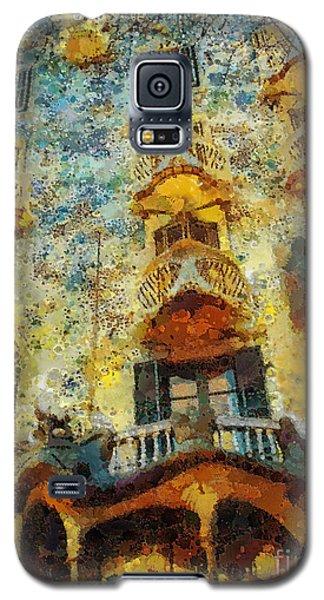 Casa Battlo Galaxy S5 Case by Mo T