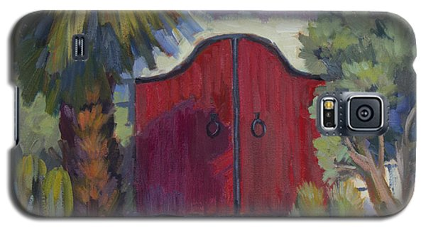 Casa Tecate Gate 2 Galaxy S5 Case by Diane McClary