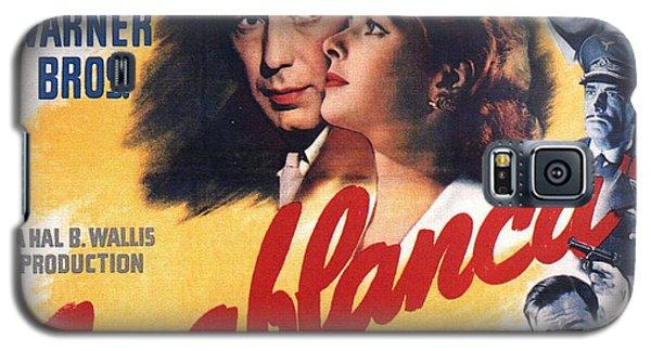 Casablanca In Color Galaxy S5 Case