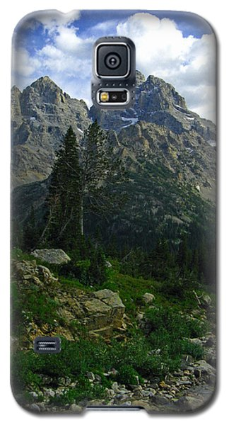 Galaxy S5 Case featuring the photograph Cascade Creek The Grand Mount Owen by Raymond Salani III