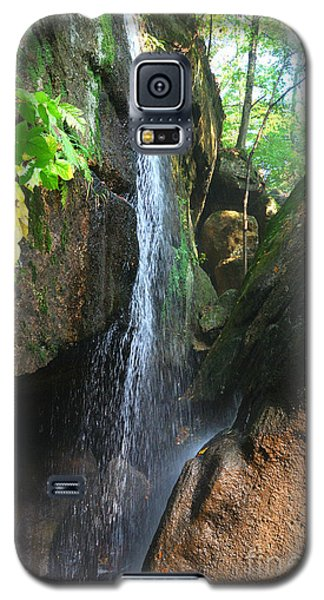 Galaxy S5 Case featuring the photograph Cascade Falls by Lila Fisher-Wenzel