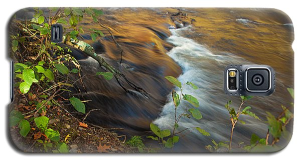 Cascade In The Fork River Galaxy S5 Case by Iris Greenwell