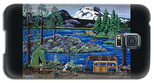 Cascade Lake Sparks Galaxy S5 Case by Jennifer Lake