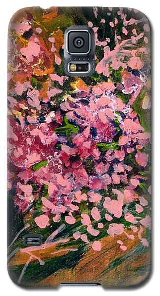 Cascade Of Pink Blossums Galaxy S5 Case
