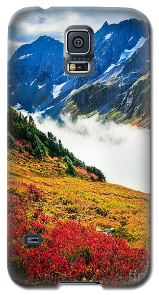 Cascade Pass Peaks Galaxy S5 Case by Inge Johnsson