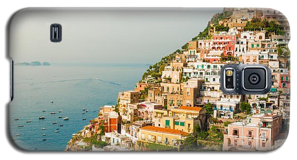 Cascades Of Positano City Galaxy S5 Case by Gurgen Bakhshetsyan