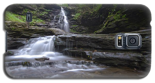Cascading Falls Galaxy S5 Case by Phil Abrams