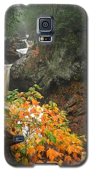 Galaxy S5 Case featuring the photograph Cascading Steps by James Peterson