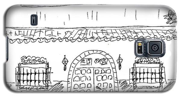 Caseta Del Psoe In Torremolinos Galaxy S5 Case