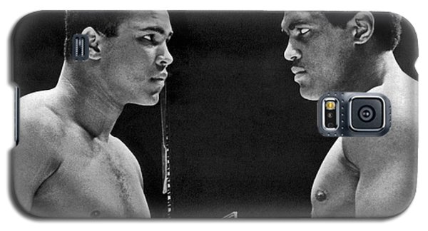 Boxing Muhammad Ali Galaxy S5 Case - Cassius Clay Gives Whammy Eye by Underwood Archives