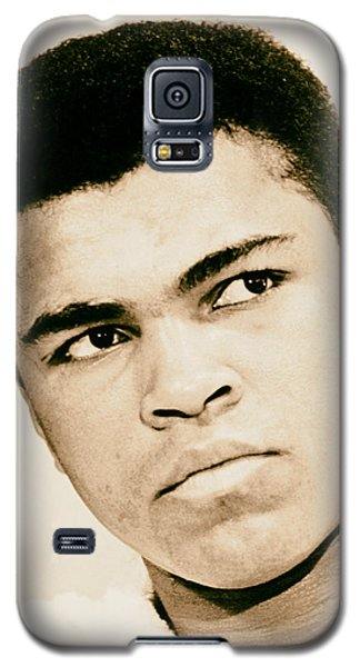 Boxing Muhammad Ali Galaxy S5 Case - Cassius Clay Later Muhammad Ali 1960s by Mountain Dreams