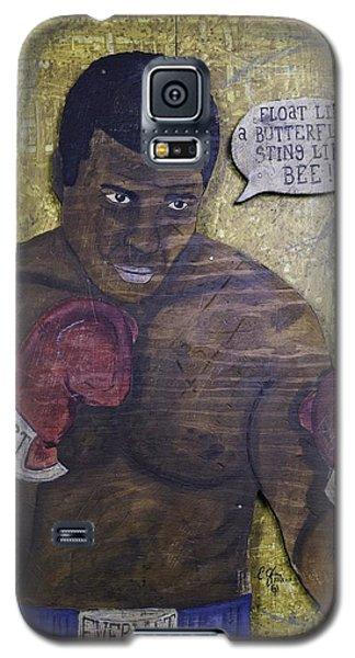 Cassius Clay - Muhammad Ali Galaxy S5 Case by Eric Cunningham