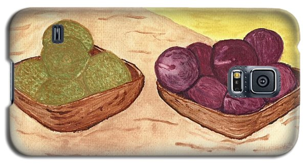 Castaway Fruit Galaxy S5 Case