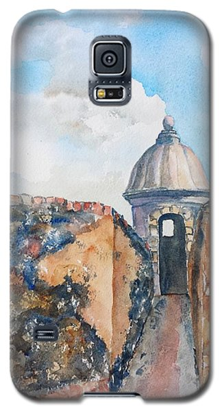 Castillo De San Cristobal Sentry Door Galaxy S5 Case