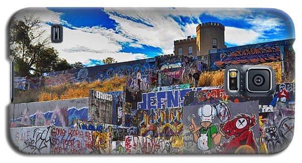 Austin Castle And Graffiti Hill Galaxy S5 Case