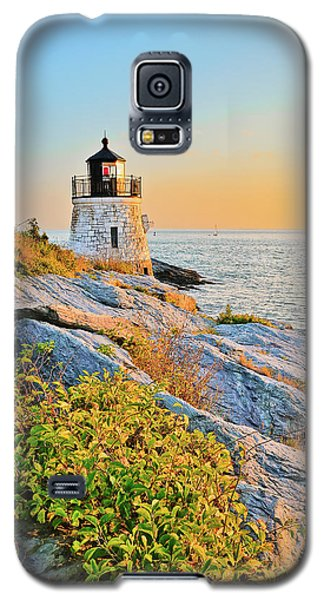 Castle Hill Lighthouse 1 Newport Galaxy S5 Case by Marianne Campolongo