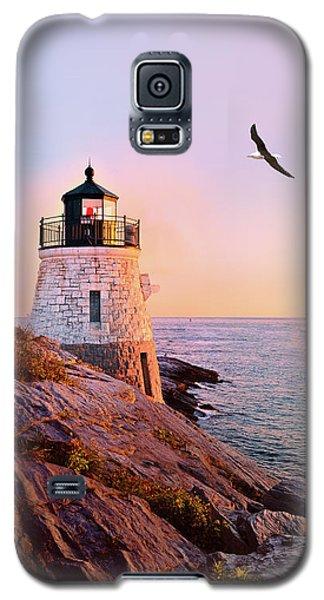 Castle Hill Lighthouse 2 Newport Galaxy S5 Case