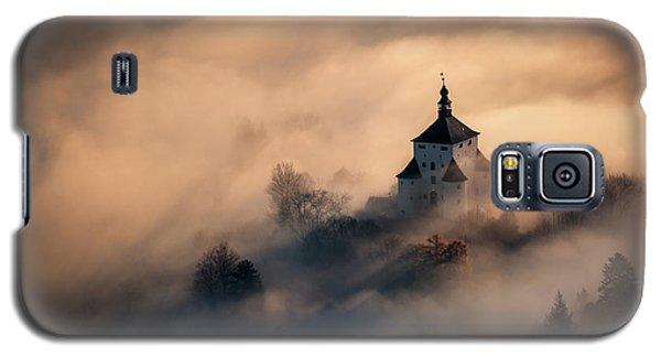 Castle Galaxy S5 Case - Castle In Fire by Peter Kov??ik