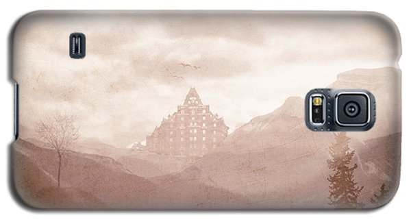 Castle In The Mountains Galaxy S5 Case